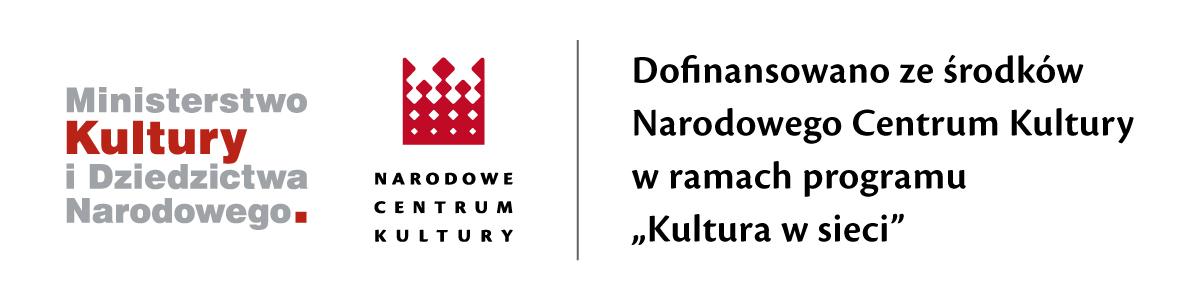 Dofinansowanie ze środków Narodowego Centrum Kultury