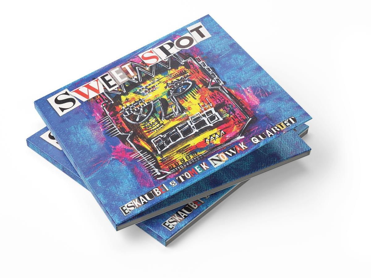 Zdjęcie okładki płyty zespołu Eskaubei i Tomasz Nowak Quartet o tytule SweetSpot